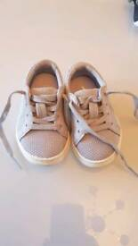Baby lacoste trainers size 3