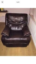 Single sofa recliner