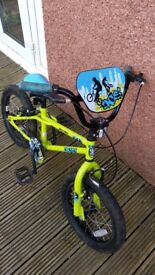 Childs bike age 4 to 7 years