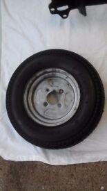 Trailer wheel 145/10