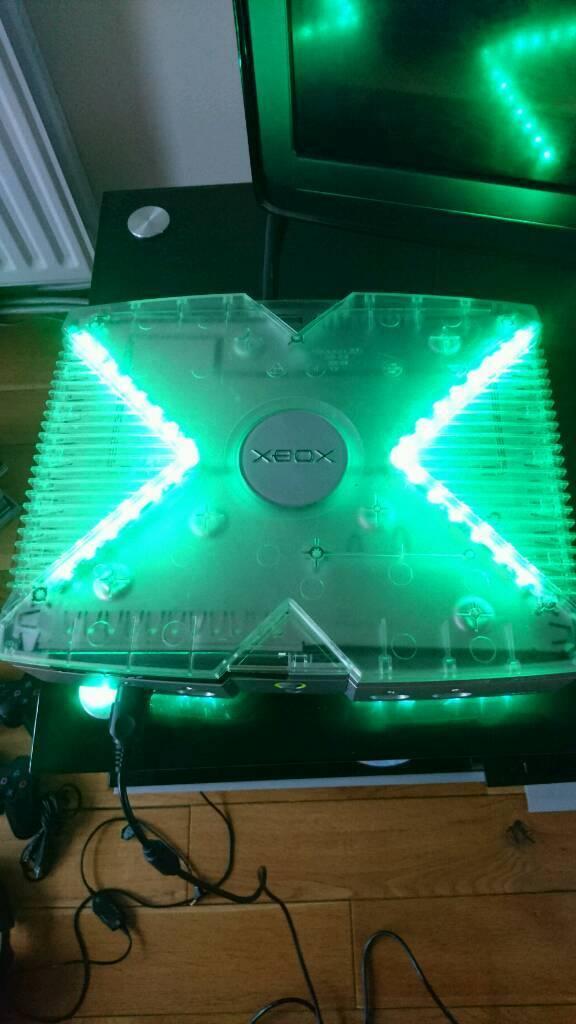 Retro arcade modded xbox