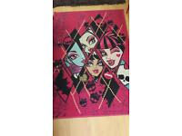 Large Monster High Rug