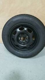 Lupo/ Polo steel wheel and tyre