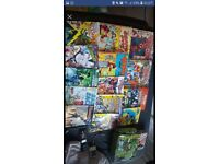 Superhero and beano book and comic collection