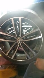 "Vw golf Clean 18"" alloy wheels"