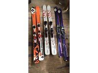 3 amazing pairs of skis- great deal