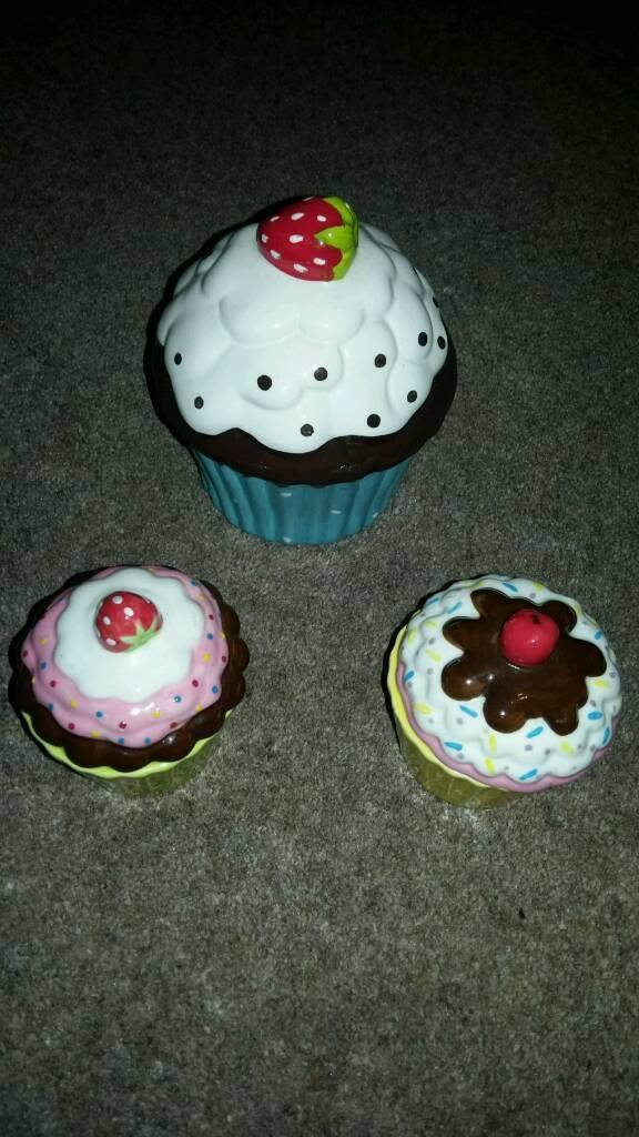 Cupcake pots