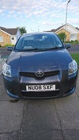 Toyota Auris 1598 cc petrol only 41334 miles immaculate condition