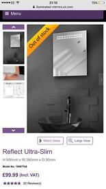 Illuminated Mirror - Brand New
