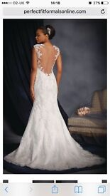 Alfred Angelo Size 8 Wedding Dress