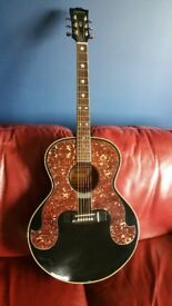 Gibson Epiphone Don Everyly - 1989 Rare 1st Edition Gibson Open Book Headstock