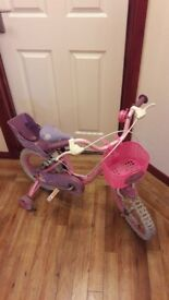 14 inch girls bike