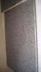 Kitchen worktop - mottled grey