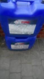Engine oil 20L Fuchs titan synthetic
