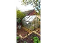 8/6 Foot Greenhouse for collection only