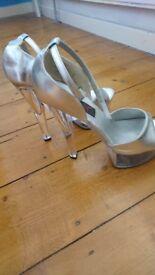 Size 6 pole dancing shoes