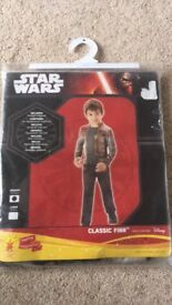 Dressing up Star Wars Finn costume. New. £4. Swavesey