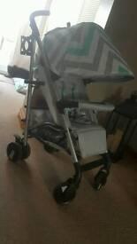 Billie faires my babiie mb51 stroller in mint