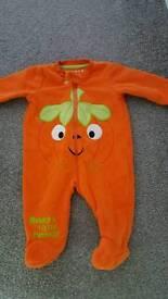 Pumpkin halloween outfit