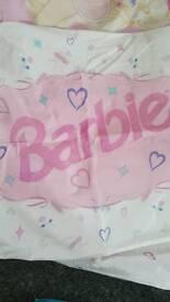 Barbie & cinderella duvet cover sets