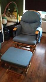 Blue nursing chair - open to offers