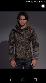 Mens large superdry jcamo jacket Airdrie £20
