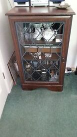 Decorative Glass fronted display cabinet