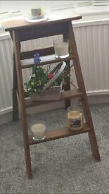 vintage wooden ladders great condition , excellent living rooms furniture