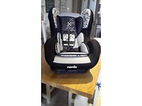 Nania car seat immaculate condition only been used a few times from birth to 4 years