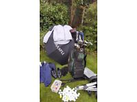 Ping G2 complete golf set , Drivers, Bag, Trolley, Shoes,Jackets, Balls, Tee's