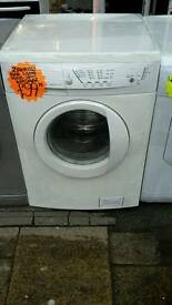 Zanussi white 6.kg load 1600 spin washing machine