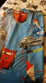 "Disney cars Curtains 72"" plus fleece"