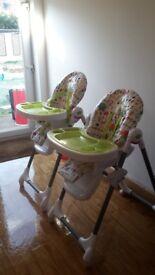 Mama and papa highchairs 2