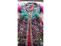 Indian/ Pakistani 4 piece Lengha suit