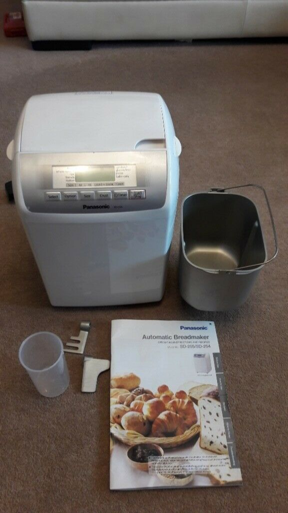 Panasonic SD255 Breadmaker (fruit/nut dispenser)  All accessories +  instructions manual | in Shirley, West Midlands | Gumtree