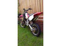 Honda CR80 2002 (not ktm kx yz rm) rapid wicked bike **fresh**