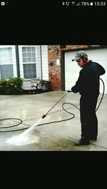 All aspects of power washing