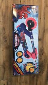 Spider Man scooter brand new