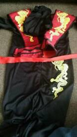 Gold emblem ninja costume
