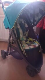 Graco evo mini - lightweight pushchair