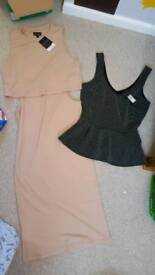 Size 12 dress and top bnwt