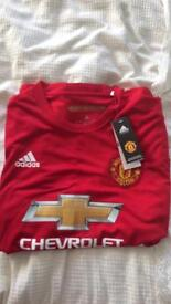Manchester United home shirt 2016/2017