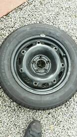 Brand New Winter tyres with wheels, Vw Polo