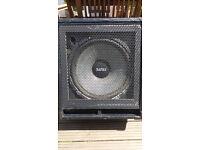 Bass cab 1x12 inch speaker