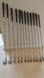 Set of Palm Springs mens (RH) steel shafted irons