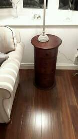 New storage & Lamp table