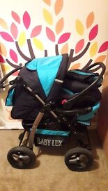 BabyLux Magnum 3 in 1 Pushchair and Carseat