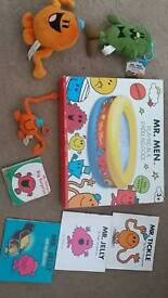 Mr men collection including paddling pool