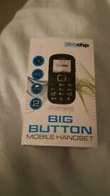 Big button mobile phone boxed with accessories