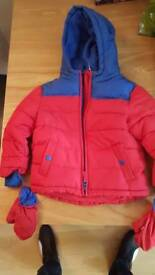 Brand new George coat 2-3 years